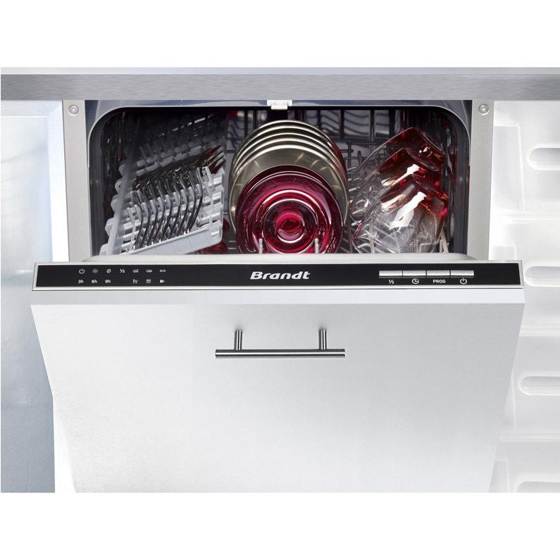 Lave Vaisselle Intégrable L448 Cm Brandt Vs1010j 10 Couverts