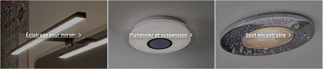 Eclairage Salle De Bains Luminaire Intérieur Au Meilleur
