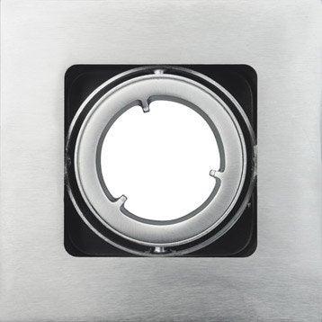 Anneau pour spot à encastrer Skive orientable sans ampoule INSPIRE acier