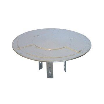 Chapeau pare-pluie simple TSO 125 mm
