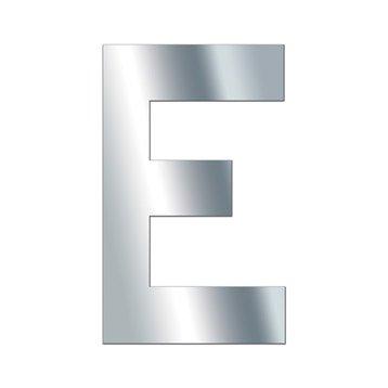 Lettre miroir E 10 cm x 10 cm