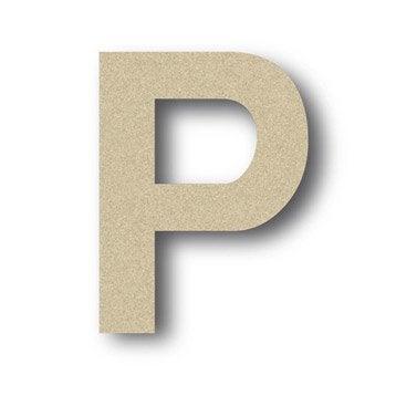 Lettre bois Majuscule p 6 cm x 6 cm