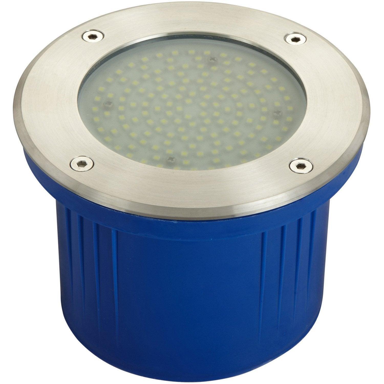 Spot enterrer ext rieur diam 17 cm acier inoxydable for Spot exterieur couleur