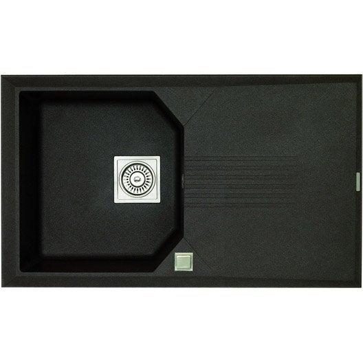 vier encastrer astracast logica 1 bac avec gouttoir. Black Bedroom Furniture Sets. Home Design Ideas