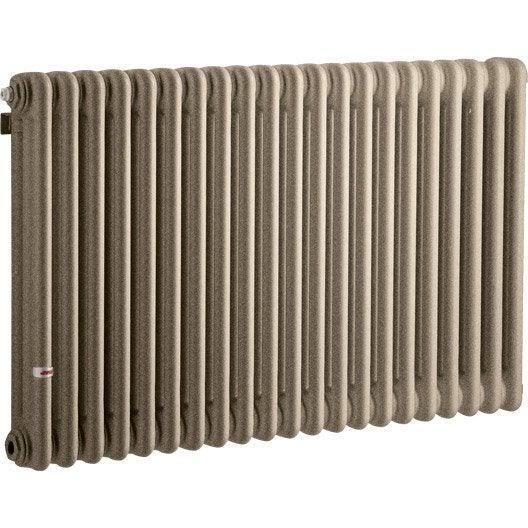 radiateur chauffage central tesi gris cm 1858 w leroy merlin. Black Bedroom Furniture Sets. Home Design Ideas