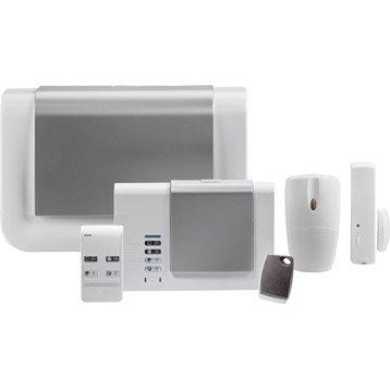Alarme maison sans fil compatible animaux DIAGRAL Diag02asf