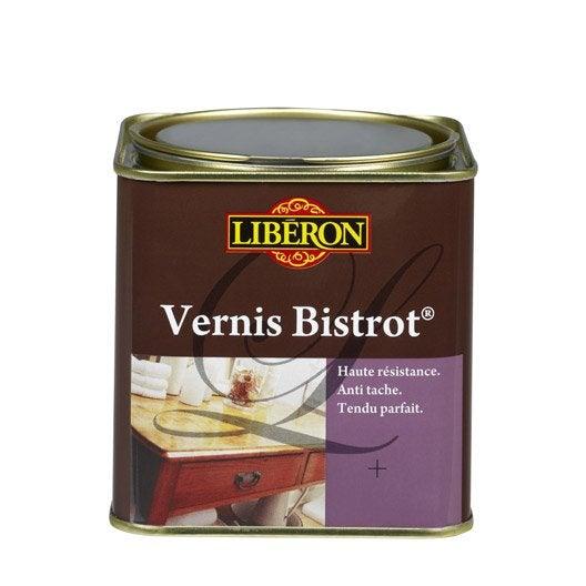 Vernis meuble et objets liberon incolore 0 5 l leroy for Enlever vernis meuble