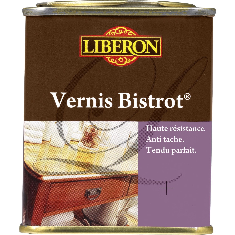 Vernis Meuble Et Objets Bistrot Liberon 0 25 L Merisier Leroy  # Vernir Un Meuble En Palette