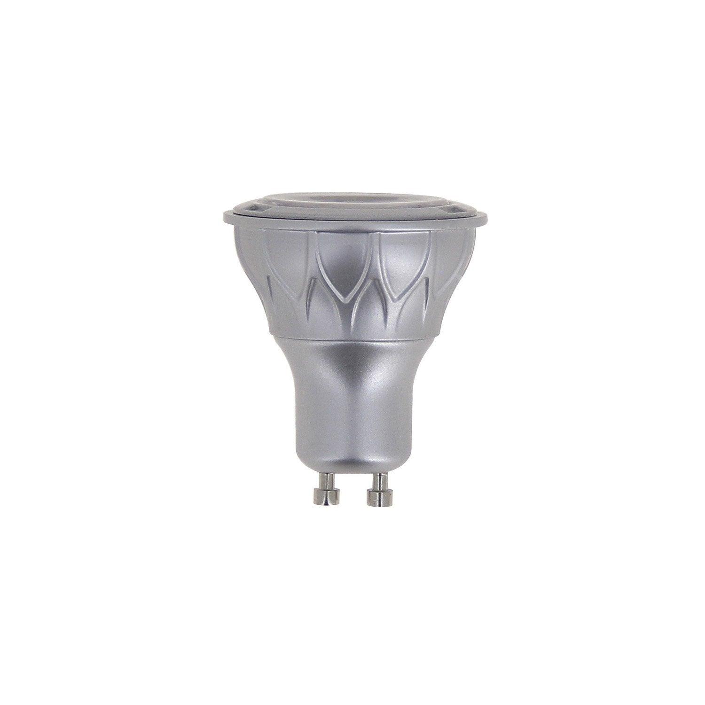 Ampoule Réflecteur LED 6.5W U003d 345Lm (équiv 50W) GU10 2700K 60° XANLITE