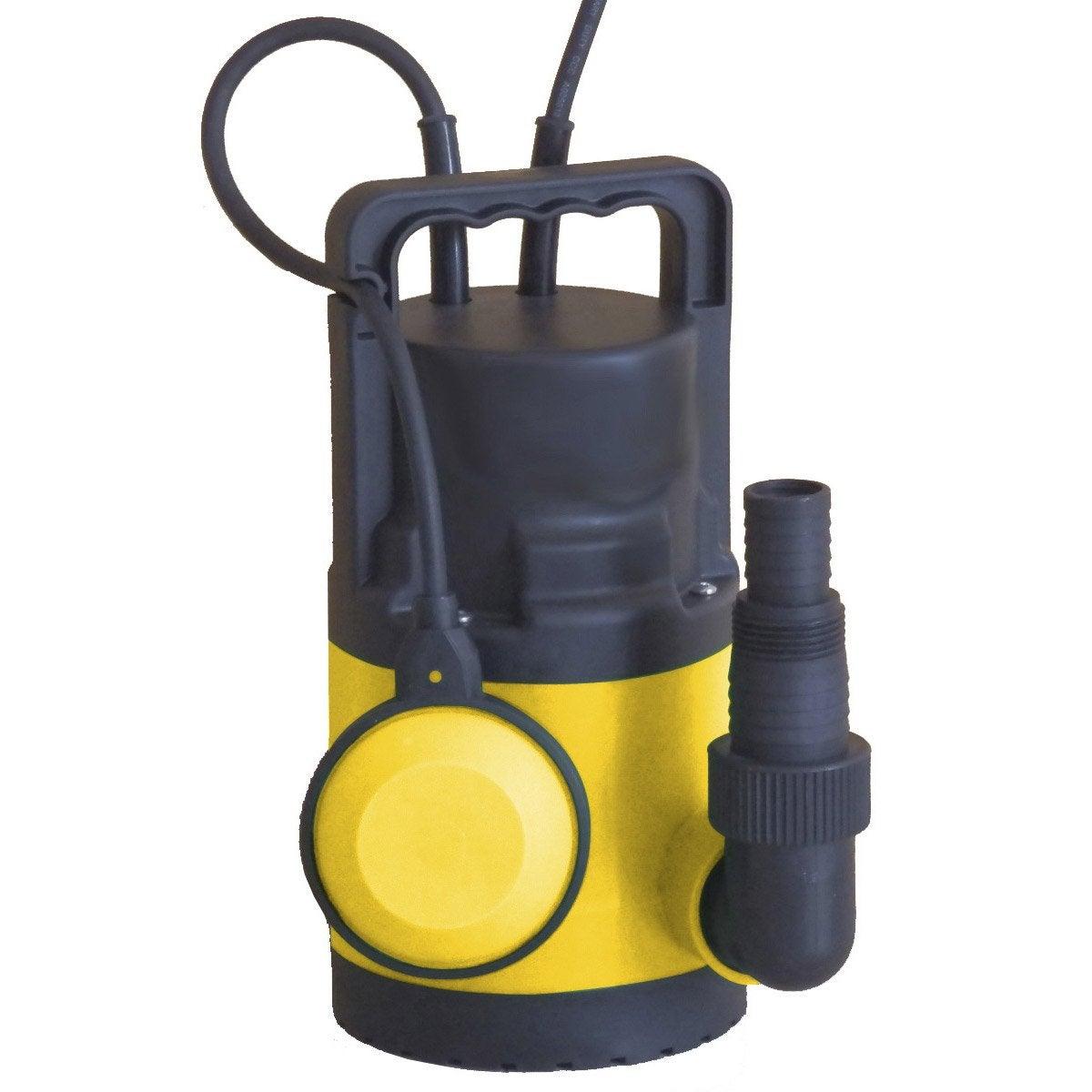 Pompe D évacuation Eau Claire Vc250ecl 6500 L H