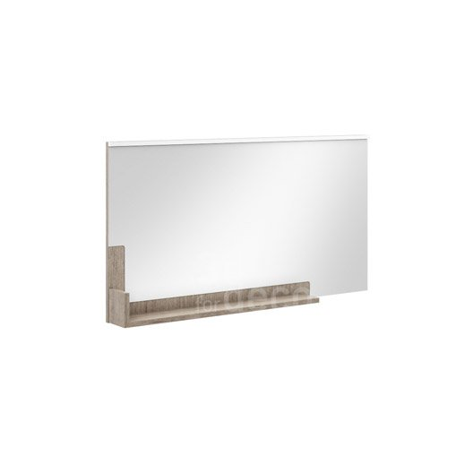 Miroir avec clairage int gr cm eden leroy merlin for Miroir 120 cm