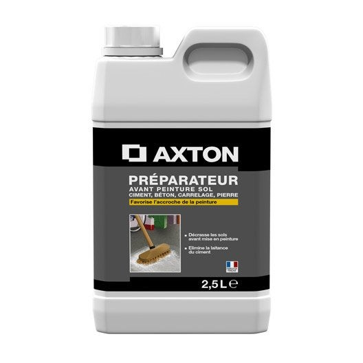 Préparation avant peinture sol intérieur AXTON, 0.5 l