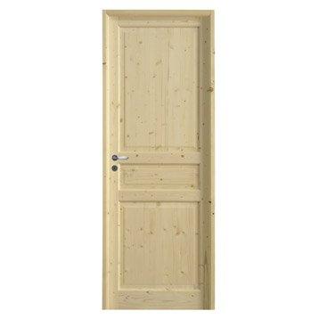 Porte classique porte int rieur bloc porte et porte fin for Bloc porte isothermique