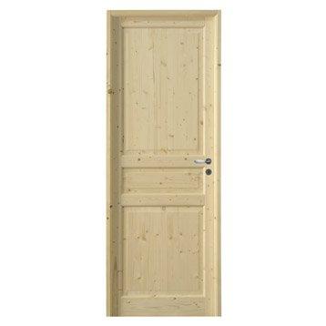 Porte classique bloc porte porte bois porte ch ne leroy merlin - Bloc porte renovation leroy merlin ...