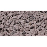 Graviers rose violet en pierre naturelle, 8/14 mm, 25 kg
