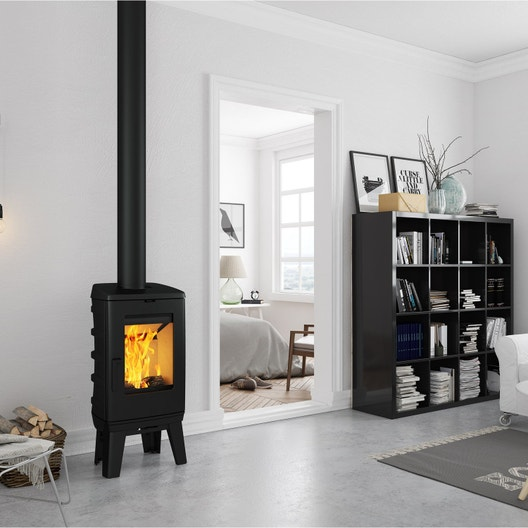po le bois godin invicta supra au meilleur prix leroy merlin. Black Bedroom Furniture Sets. Home Design Ideas