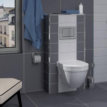 Meuble, coffrage et rangement WC - Meuble toilette au ...