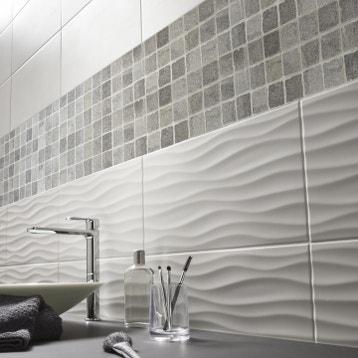 Carrelage Mur Blanc Artic L30 X L60 Cm