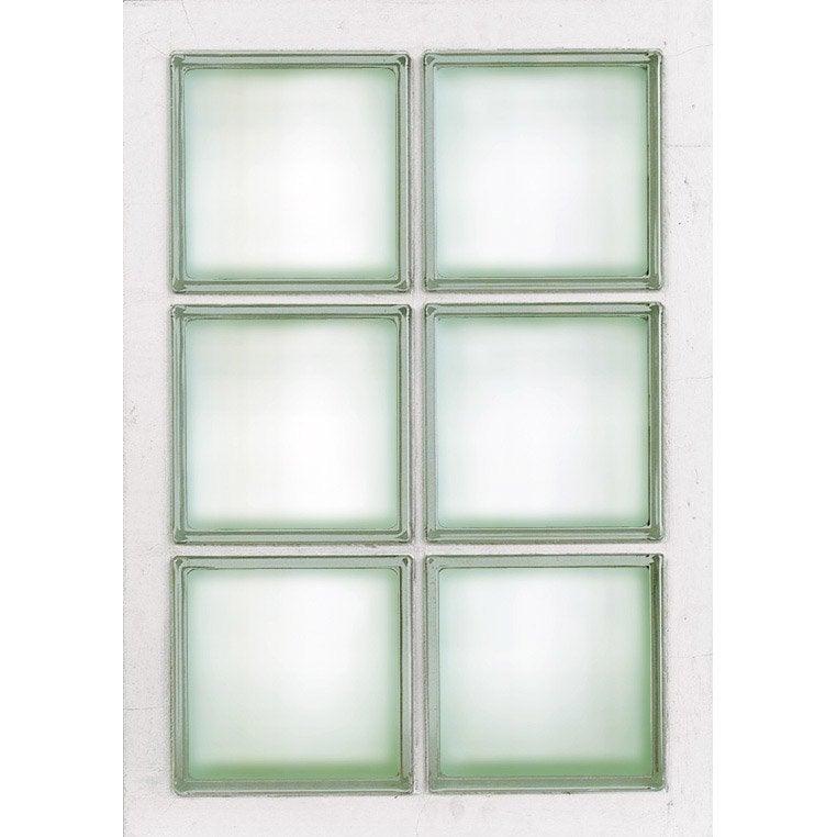 Panneau 6 Briques De Verre Transparent Leroy Merlin