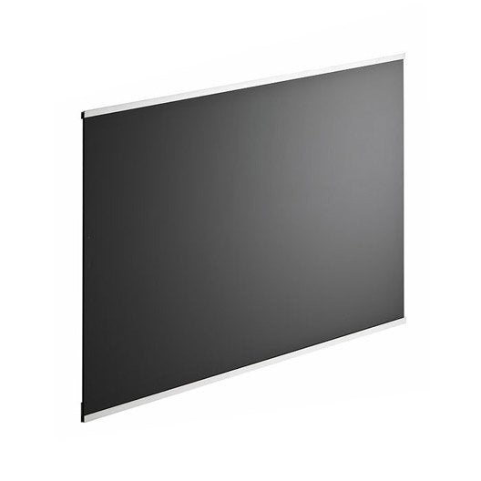 fond de hotte verre delinia dark noir x cm ep 5 mm leroy merlin. Black Bedroom Furniture Sets. Home Design Ideas