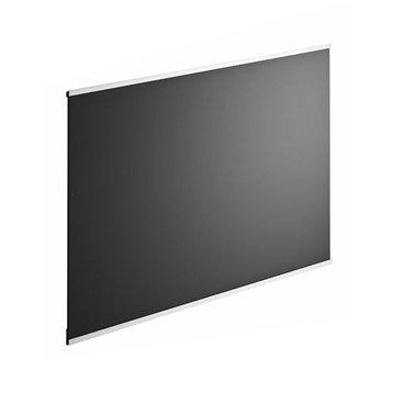 Fond de hotte verre delinia dark noir noir n 0 90cmx70cmx5mm - Fond de hotte inox castorama ...