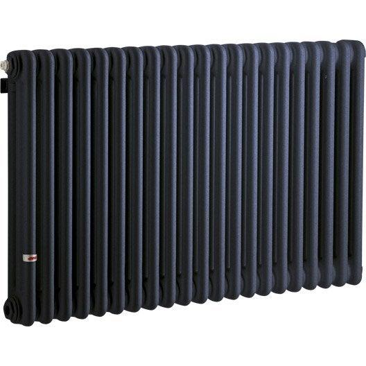 radiateur chauffage central tesi bleu cm 1858 w leroy merlin. Black Bedroom Furniture Sets. Home Design Ideas