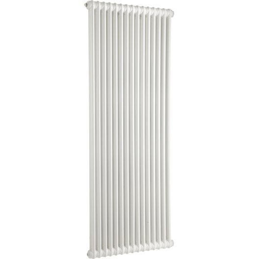 radiateur chauffage central acier tesi 2 blanc opaque 1864w. Black Bedroom Furniture Sets. Home Design Ideas