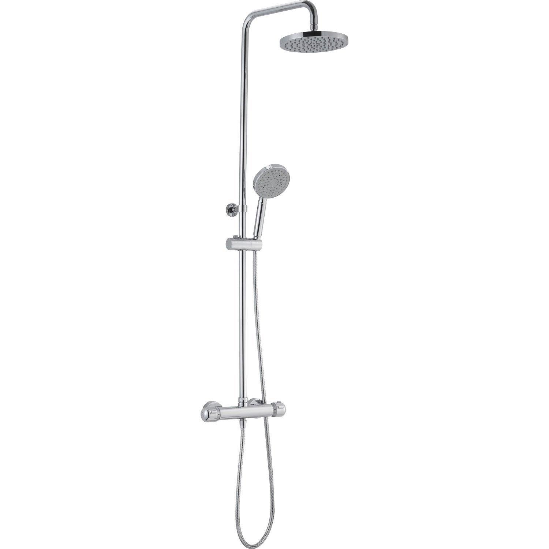 Colonne de douche avec robinetterie sensea logico plus for Leroy merlin mitigeur bain douche