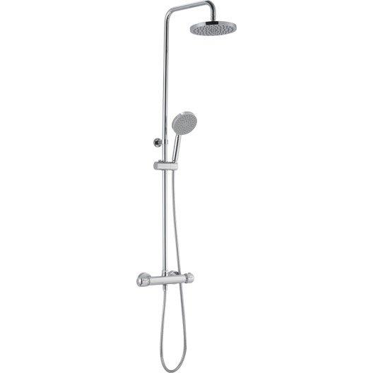 colonne de douche avec robinetterie, sensea logico plus | leroy merlin