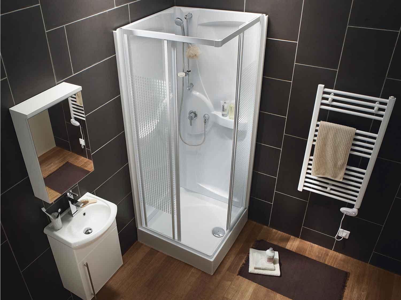 cabine de douche rectangulaire 120x90 cm thalaglass 2 thermo leroy merlin. Black Bedroom Furniture Sets. Home Design Ideas