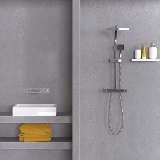 enduit masqu 39 carrelage et mur maison deco gris urbain 9. Black Bedroom Furniture Sets. Home Design Ideas