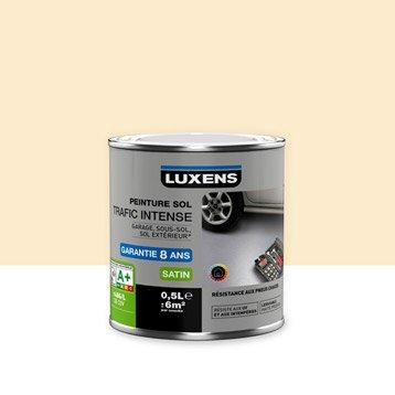 Peinture sol extérieur / intérieur Trafic intense LUXENS, sable clair, 0.5 l
