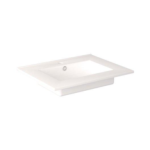 Plan vasque meuble de salle de bains leroy merlin for Plan vasque salle de bain leroy merlin