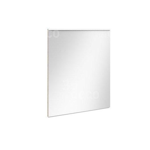 Miroir avec clairage int gr l 90 cm eden leroy merlin for Miroir hauteur 90 cm