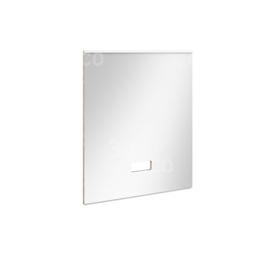 Miroir avec clairage int gr cm eden leroy merlin for Miroir hauteur 90 cm