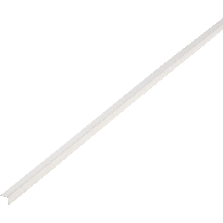 Cornière Pvc Blanc 10 X 10 Mm L26 M