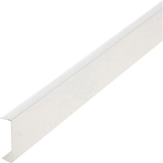 nez de cloison pvc blanc 20 x 74 mm l 2 6 m leroy merlin. Black Bedroom Furniture Sets. Home Design Ideas