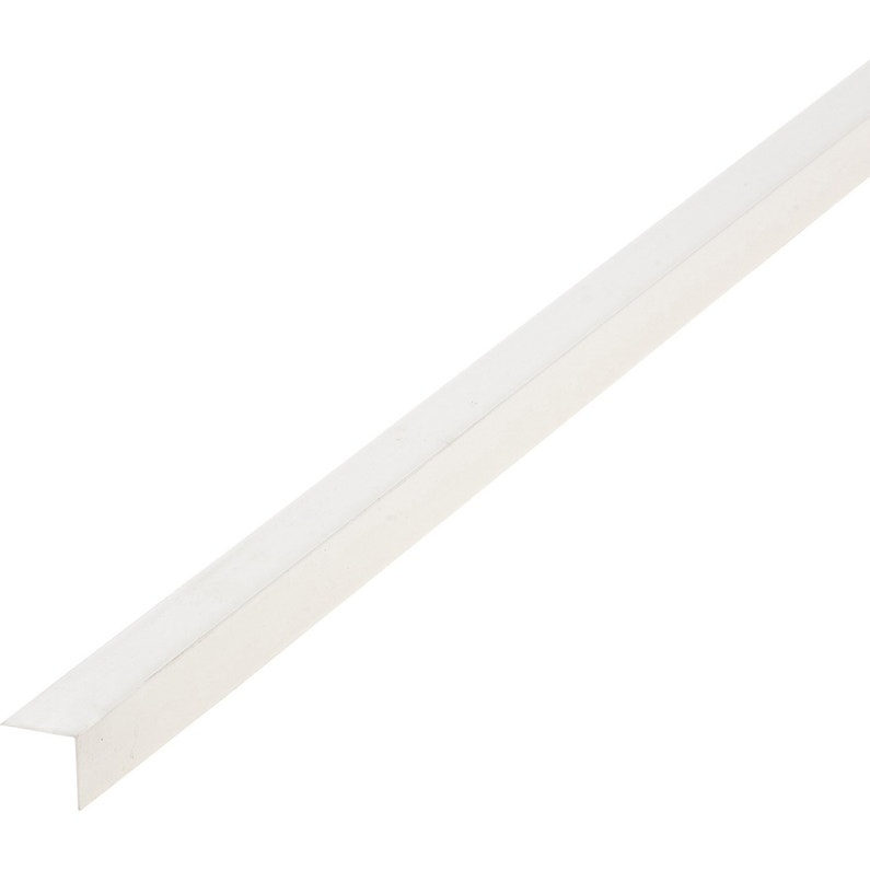 Cornière Pvc Blanc 25 X 25 Mm L26 M