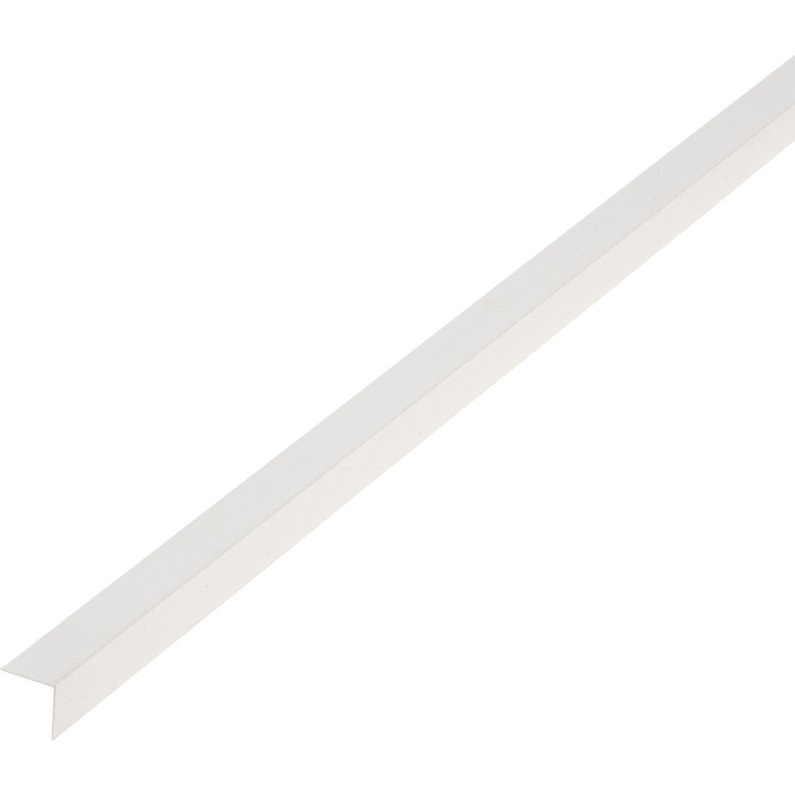 Cornière Pvc Blanc 20 X 20 Mm L26 M