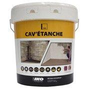 Enduit ciment pour cave IKO Cav'étanche 20 kg gris
