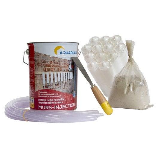 kit antihumidit iko wall injector 5 l incolore leroy merlin. Black Bedroom Furniture Sets. Home Design Ideas