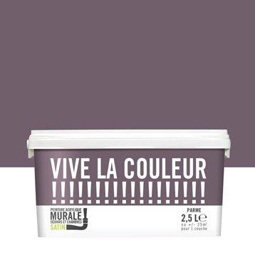 Peinture parme VIVE LA COULEUR! 2.5 l