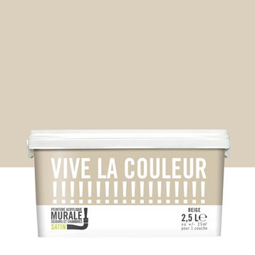 Peinture beige VIVE LA COULEUR! 2.5 l