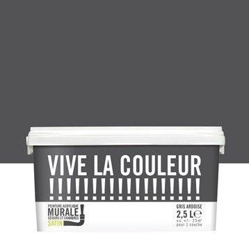 Peinture gris ardoise VIVE LA COULEUR! 2.5 l