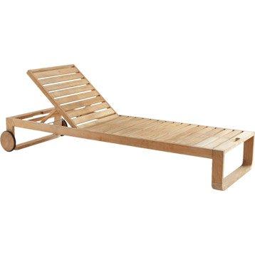Bain de soleil transat hamac chaise longue au meilleur for Transat en bois pliable