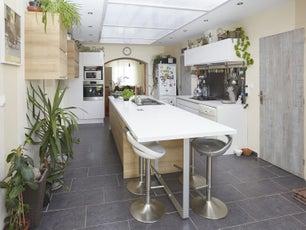 Cuisine quip e meuble de cuisine amenagement - Accessoires de cuisine leroy merlin ...