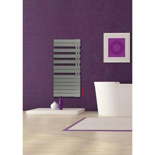 s che serviettes eau chaude acier acova alpaga asym trique couleur 809 w leroy merlin. Black Bedroom Furniture Sets. Home Design Ideas