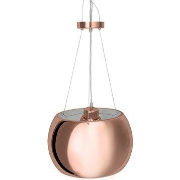 les suspensions noirs et cuivre filaires leroy merlin. Black Bedroom Furniture Sets. Home Design Ideas