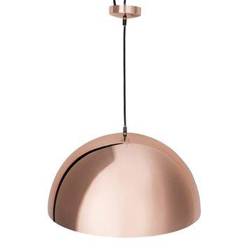 Suspension, e27 design Anzu métal cuivre 1 x 60 W INSPIRE