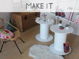 DIY : Fabriquer une table basse design